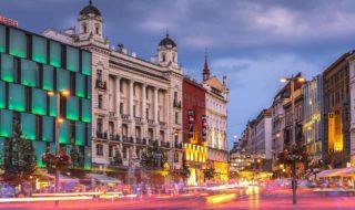 Freedom Square (náměstí Svobody) in Brno