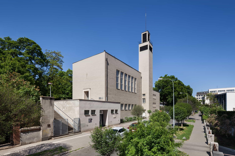 Hussite Church Building in Brno