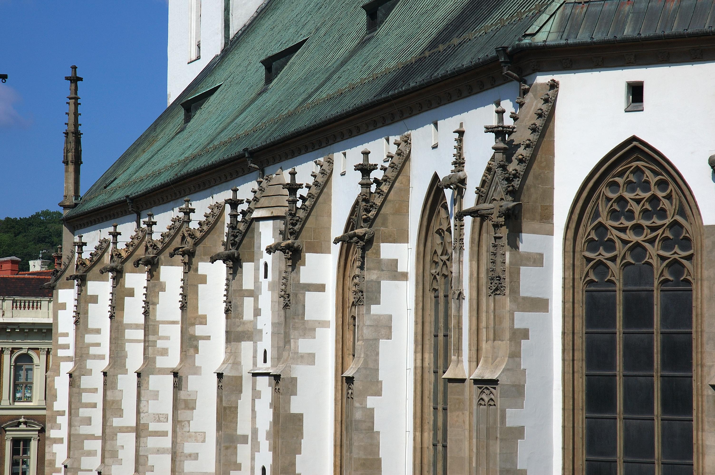 St. James´s Square in Brno