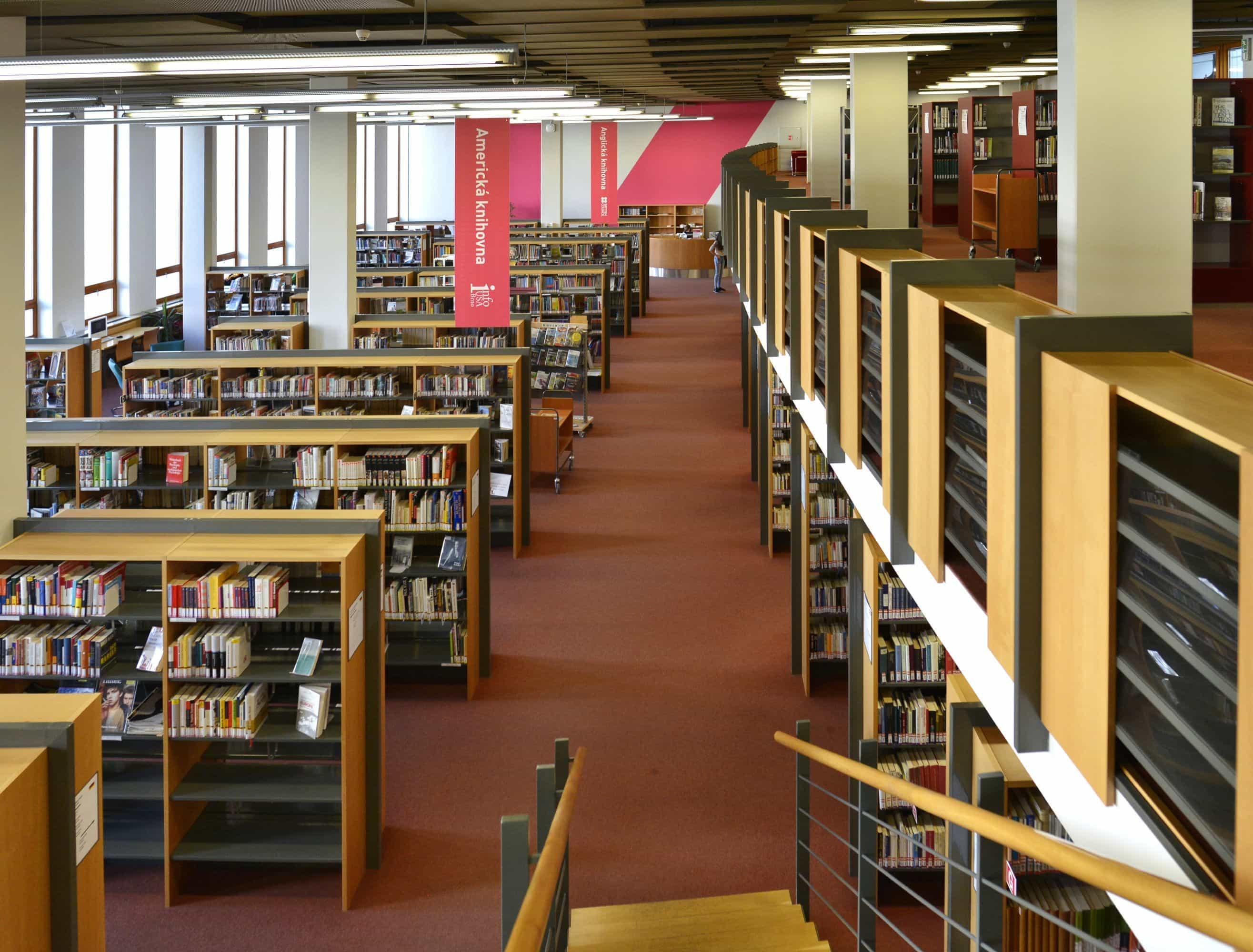 Moravian Library in Brno