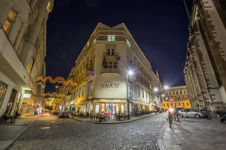 St James' Square in Brno.