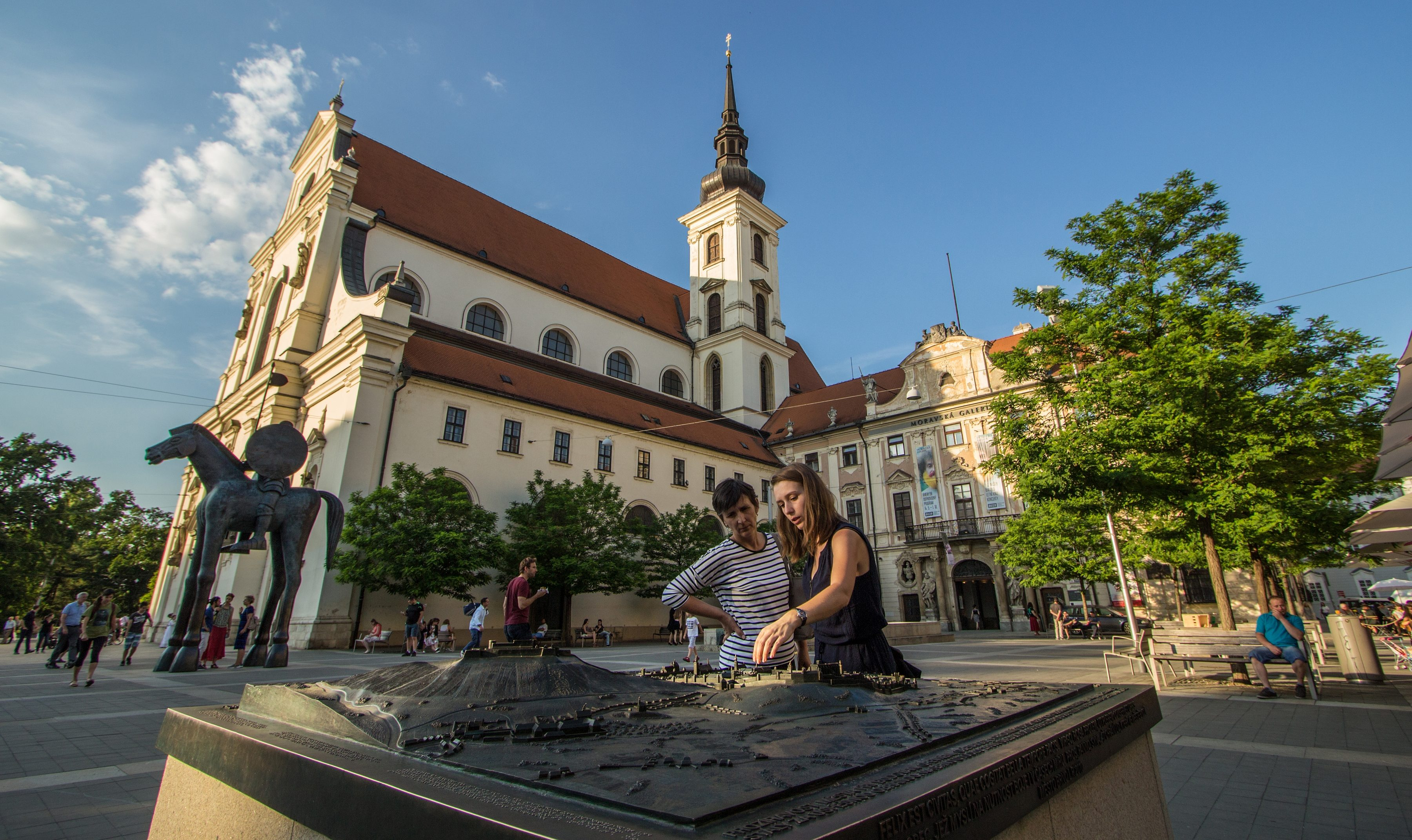 Moravian Square in Brno