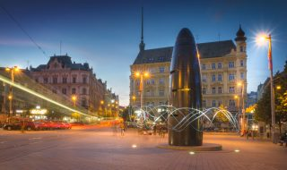 Freedom Square in Brno