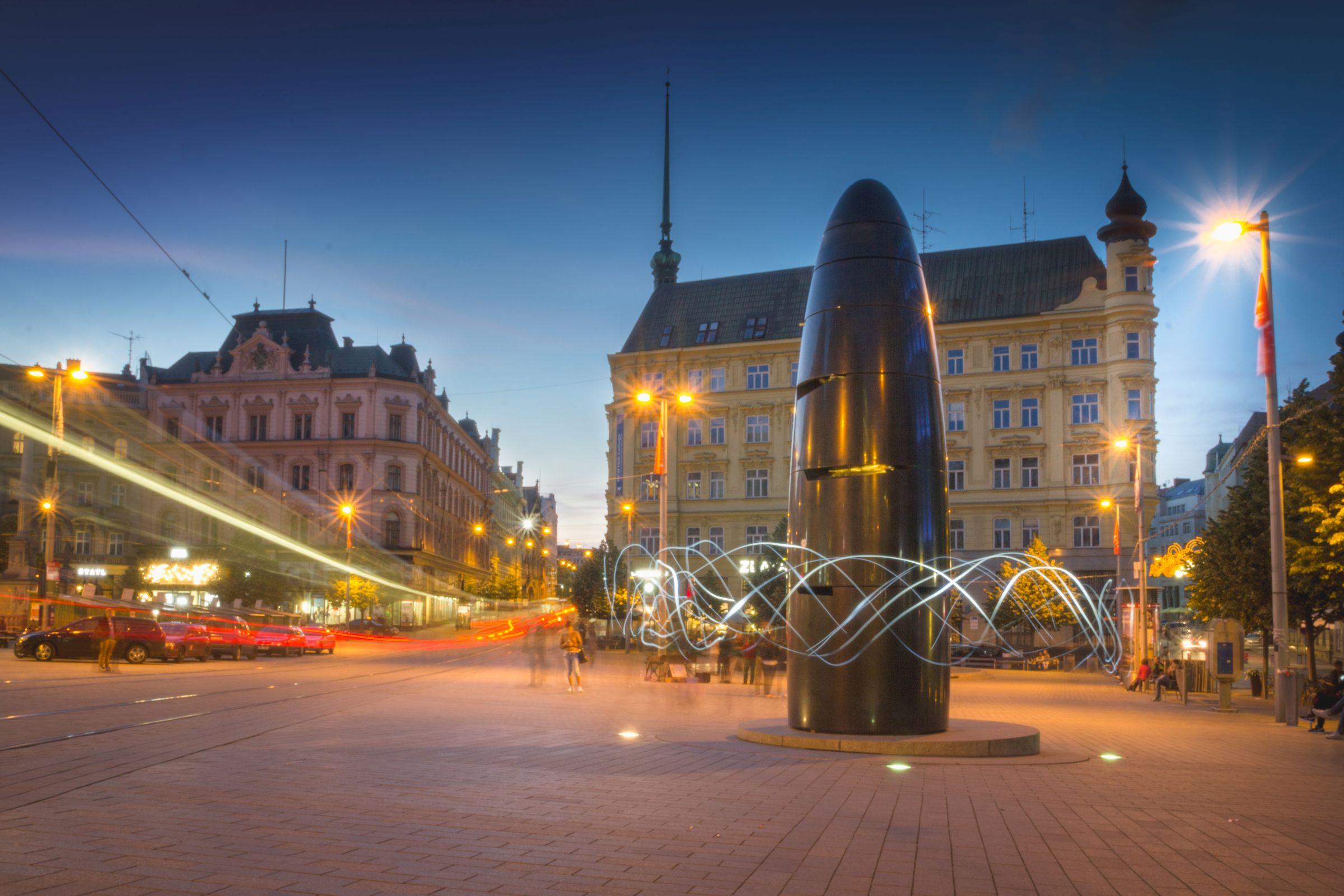 Náměstí Svobody Brně