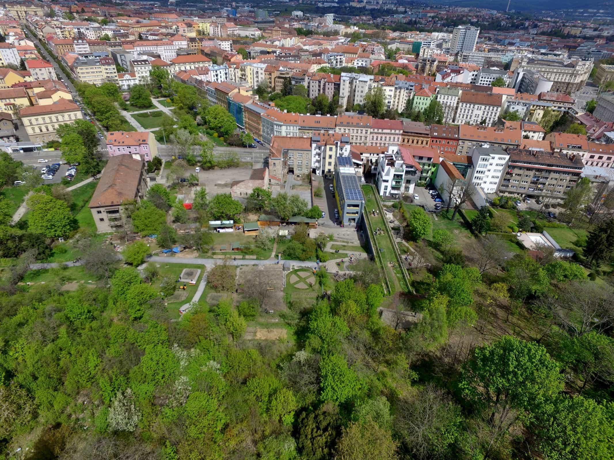 The Open Gardens in Brno