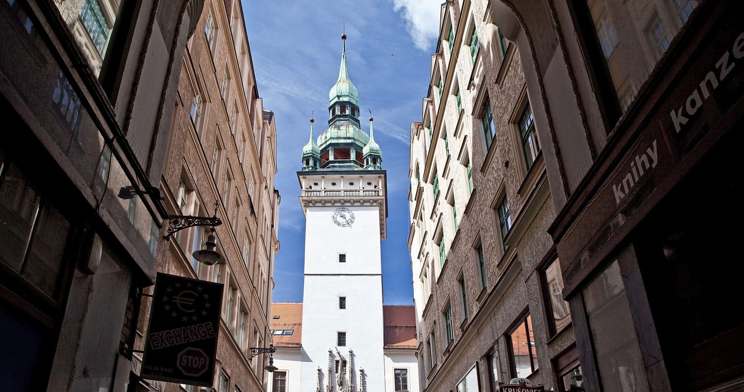 Stará radnice v Brně - Informační centrum pod krokodýlem v Brně