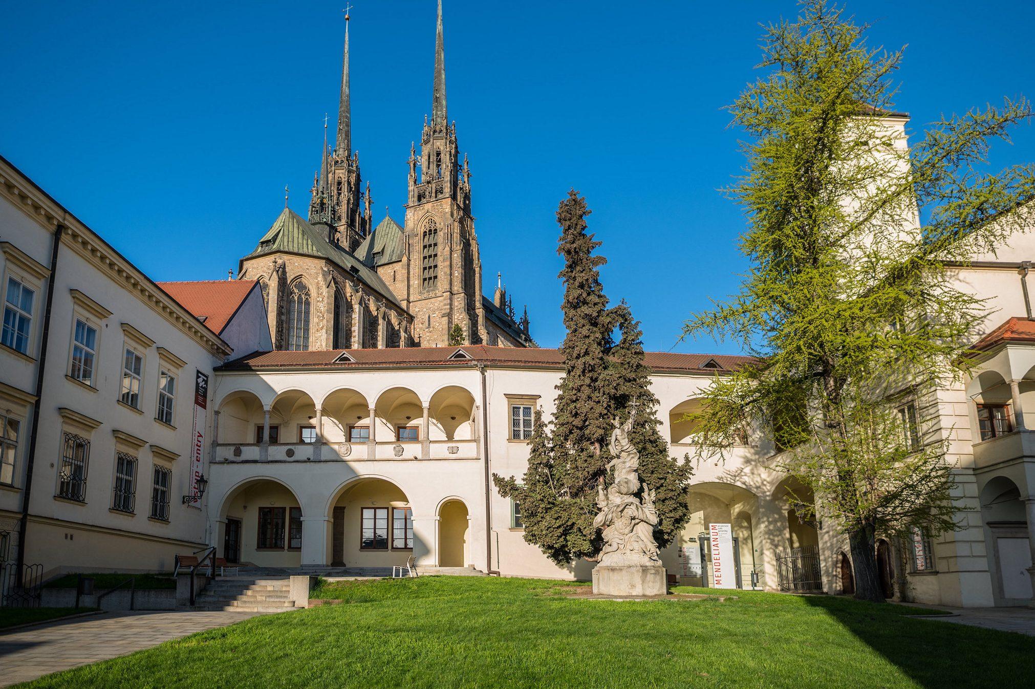 Biskupský dvůr (Bishop's Courtyard) in Brno