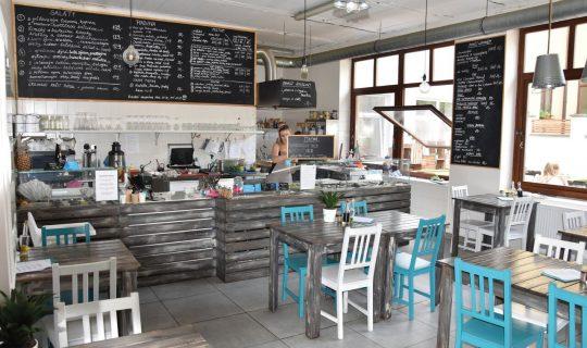 kavárna Freshfanatic v brně