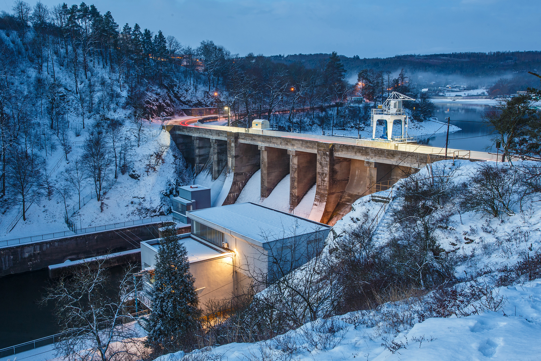 Brno Dam (Brněnská přehrada) in winter, Author: Robert Vystrčil, www.prygl.net
