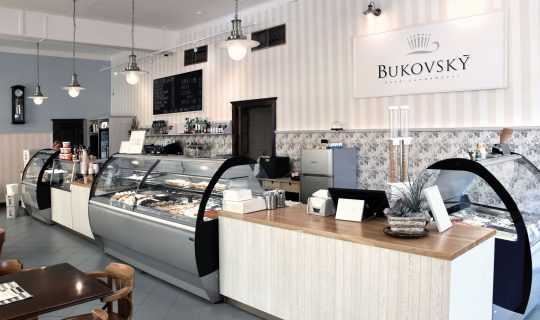 confectionary Bukovský café - cukrářství in Brno