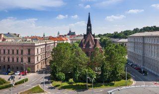 Jan Amos Comenius Church (Kostel J. A. Komenského) in Brno