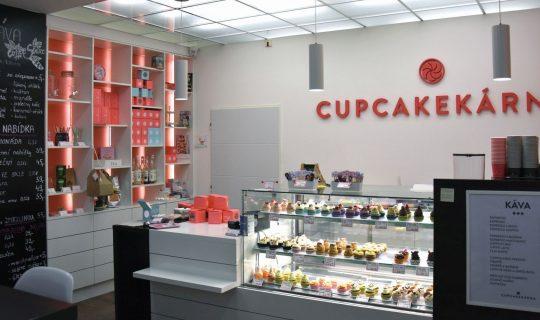 cukrárna Cupcakekarna v Brně