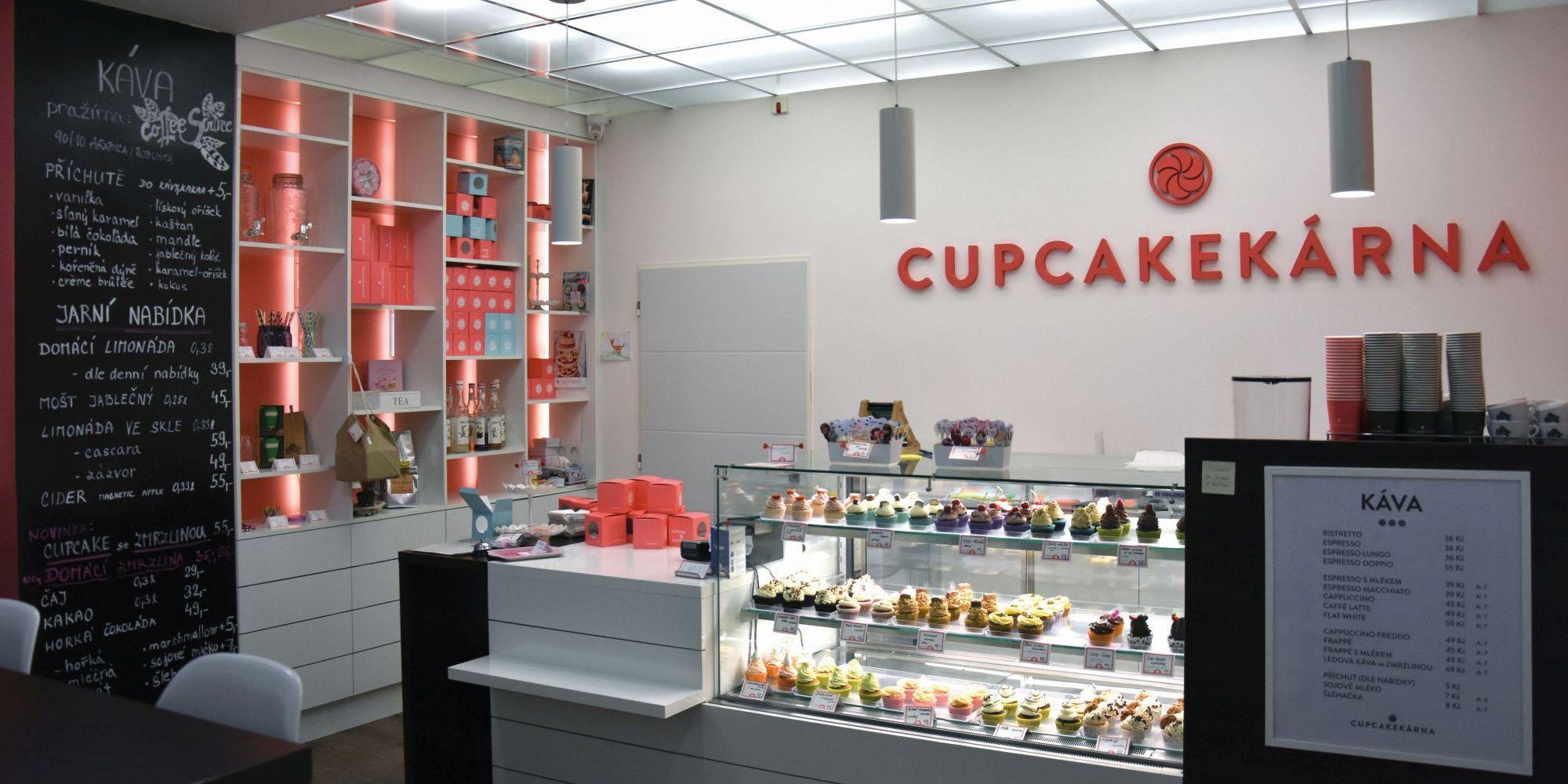 confectionary Cupcakekárna in Brno
