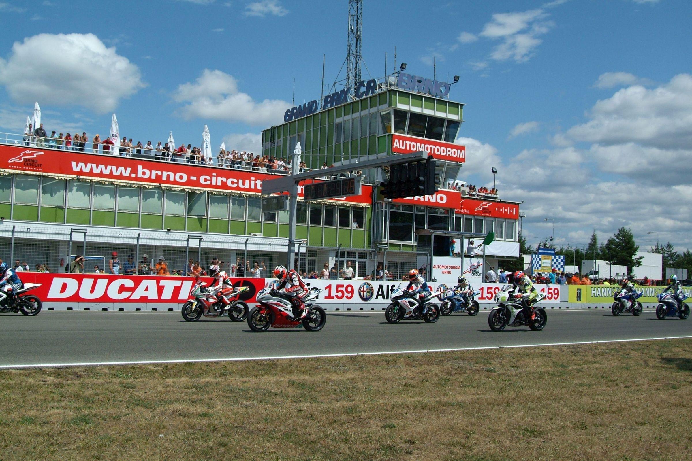Masaryk Circuit (Masarykův okruh) in Brno