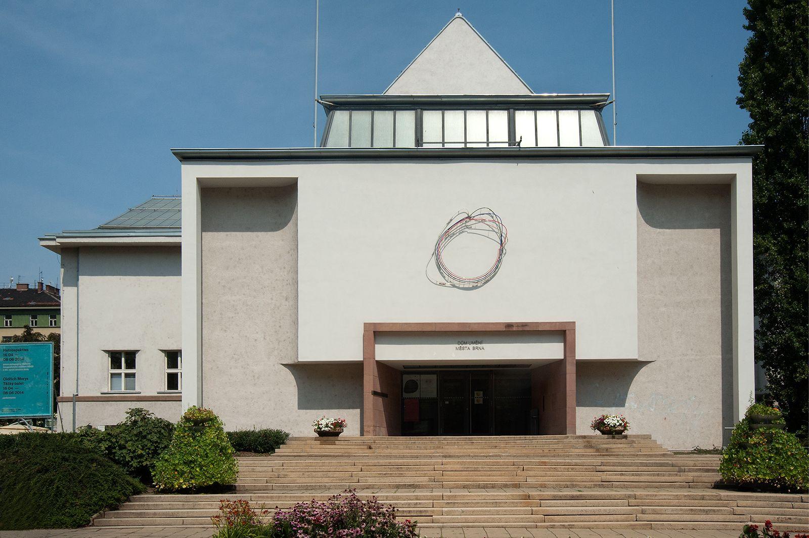 The Brno House of Arts (Dům umění města Brna) in Brno