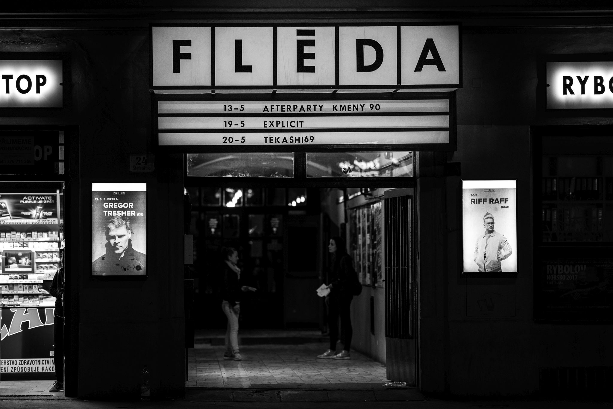 Club Fléda in Brno