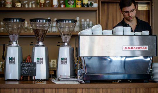 kavárna Coffee Fusion v Brně
