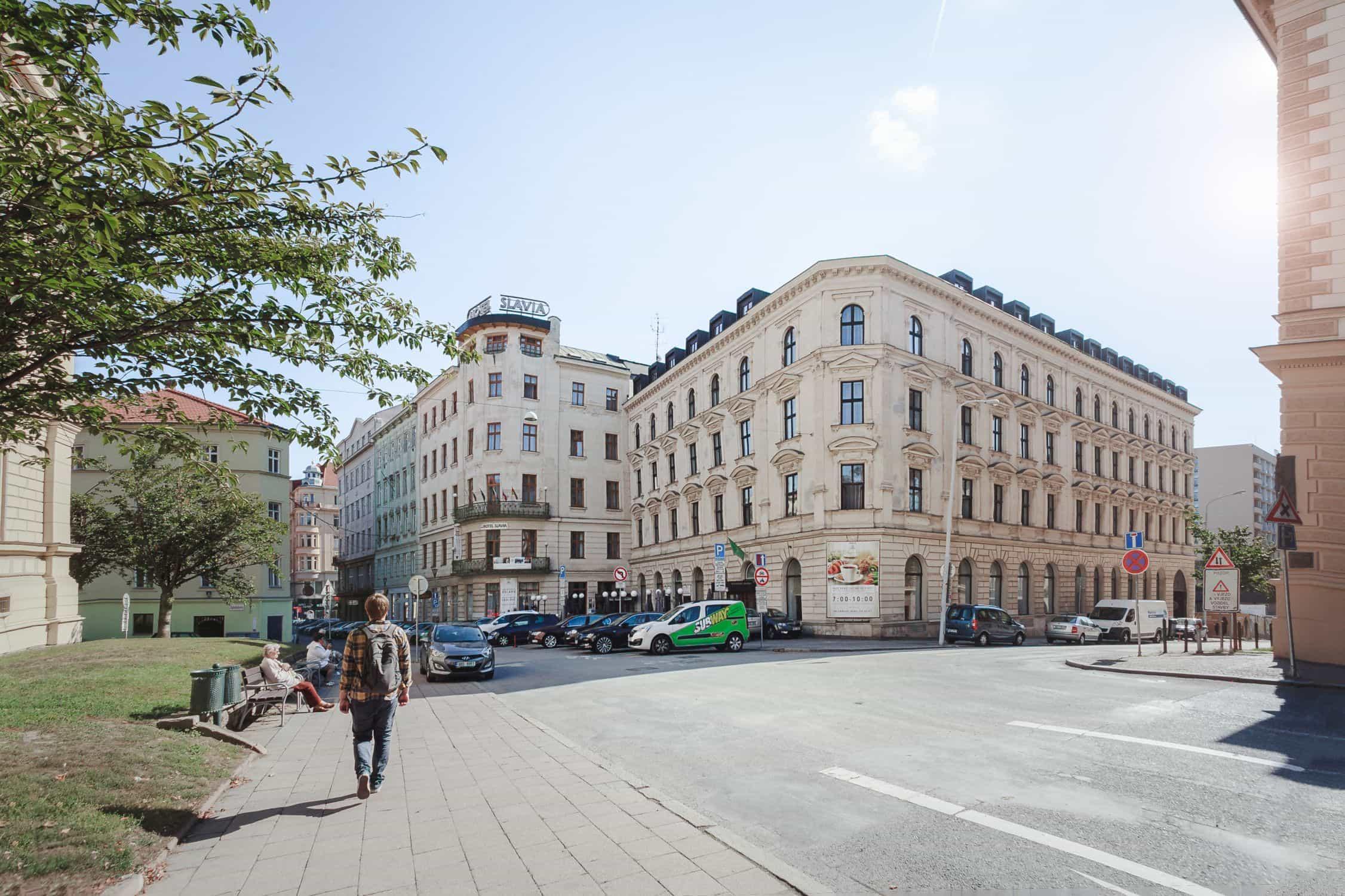 Hotel Slavia in Brno