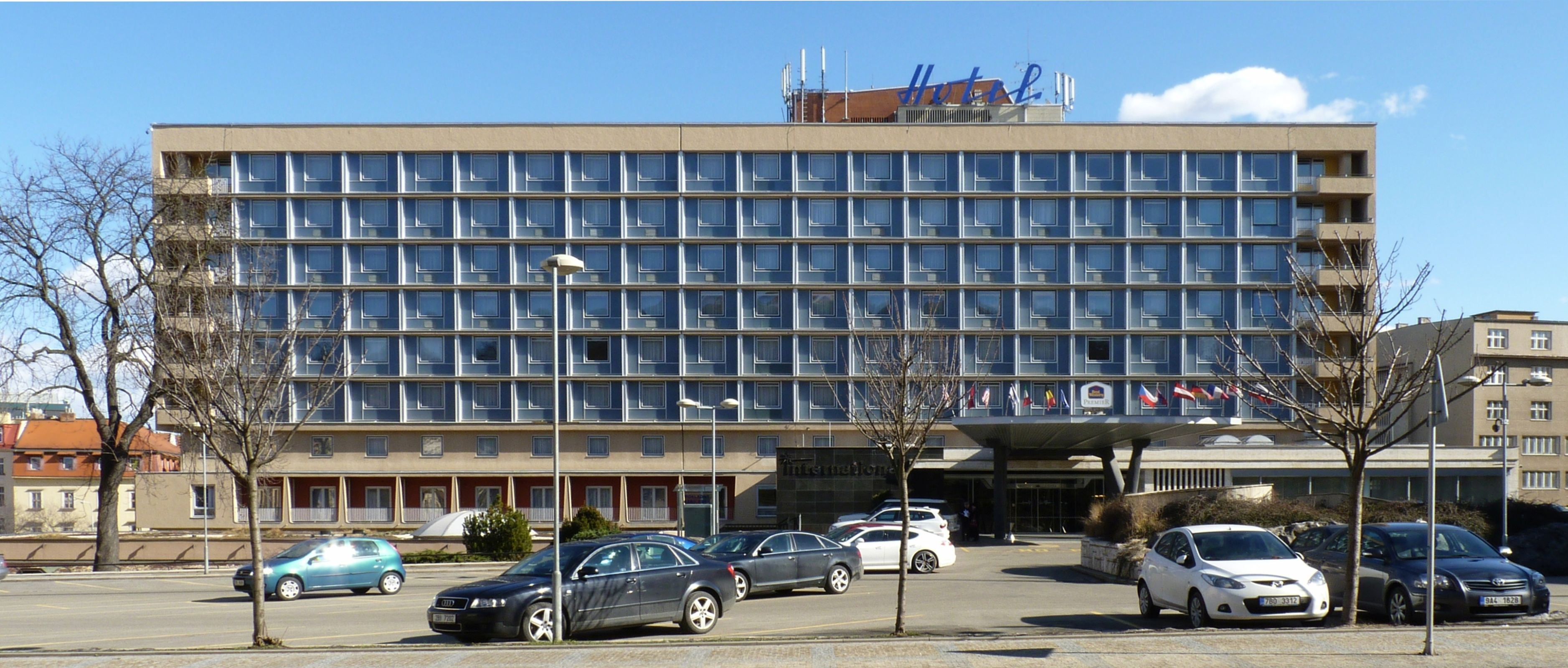 Hotel International in Brno