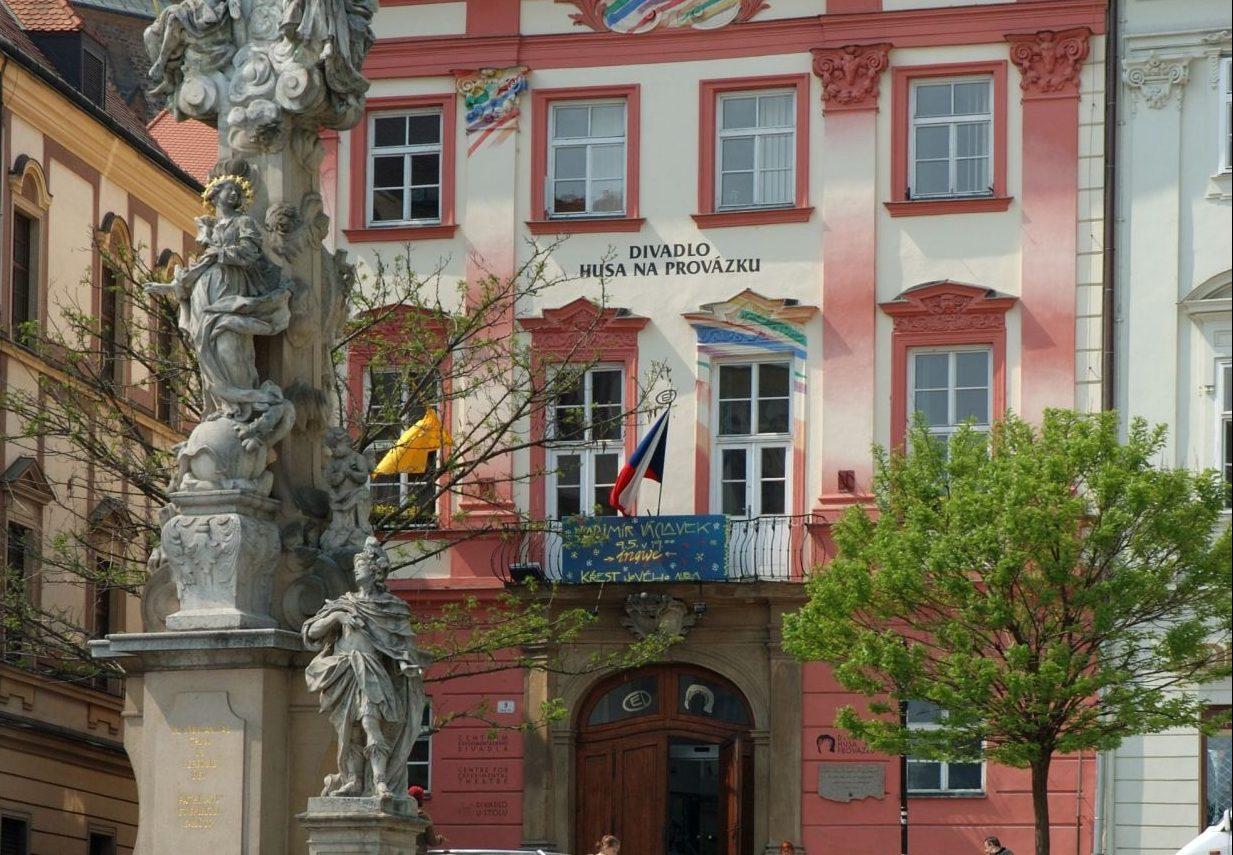 Theater Husa na provázku in Brünn
