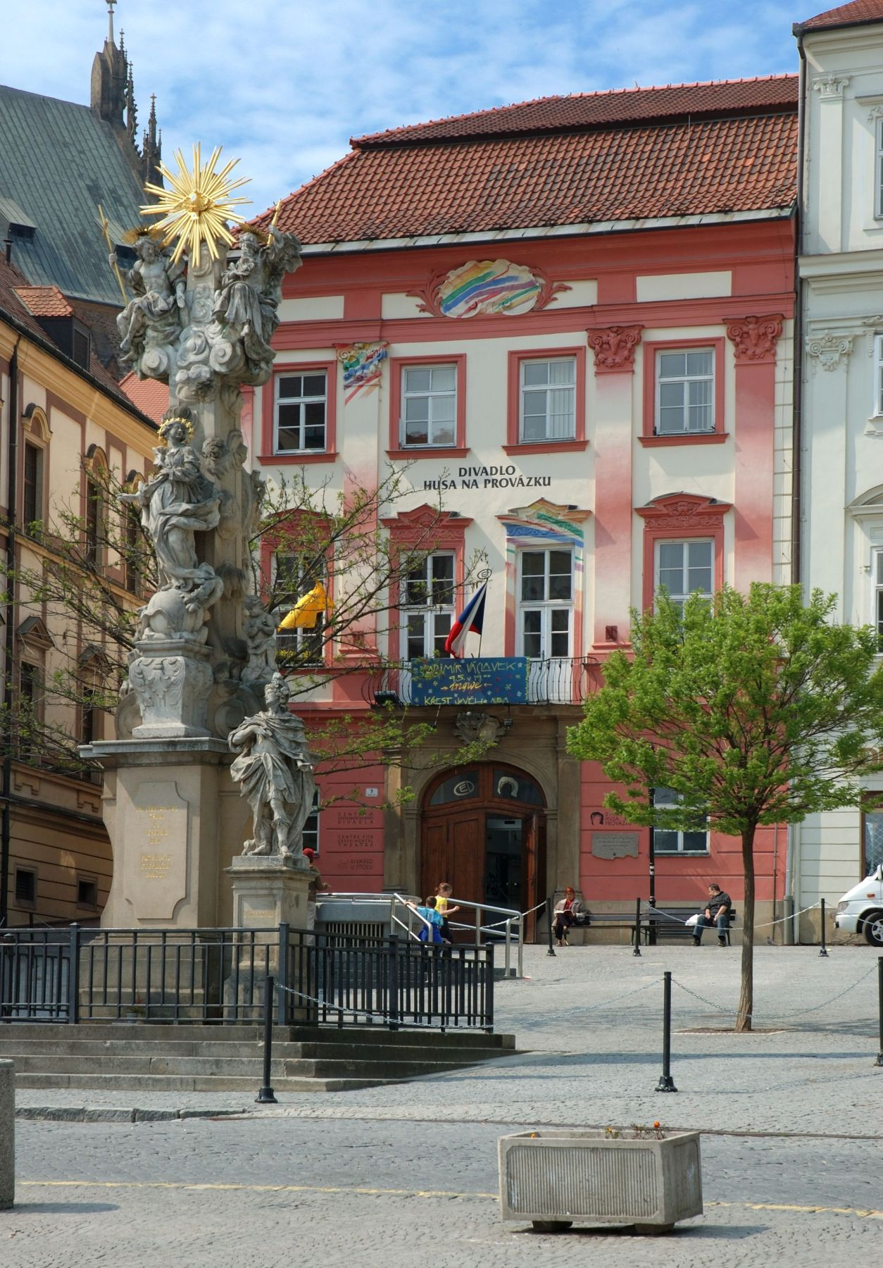 Goose on a String Theatre (Divadlo Husa na provázku) in Brno