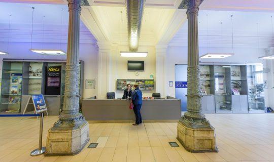Main Station Information Centre in Brno