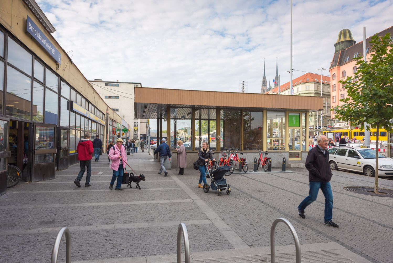 Tourist Information - Main Railway Station in Brno