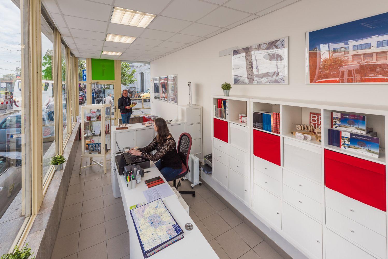 Informační centrum na hlavním nádraží v Brně