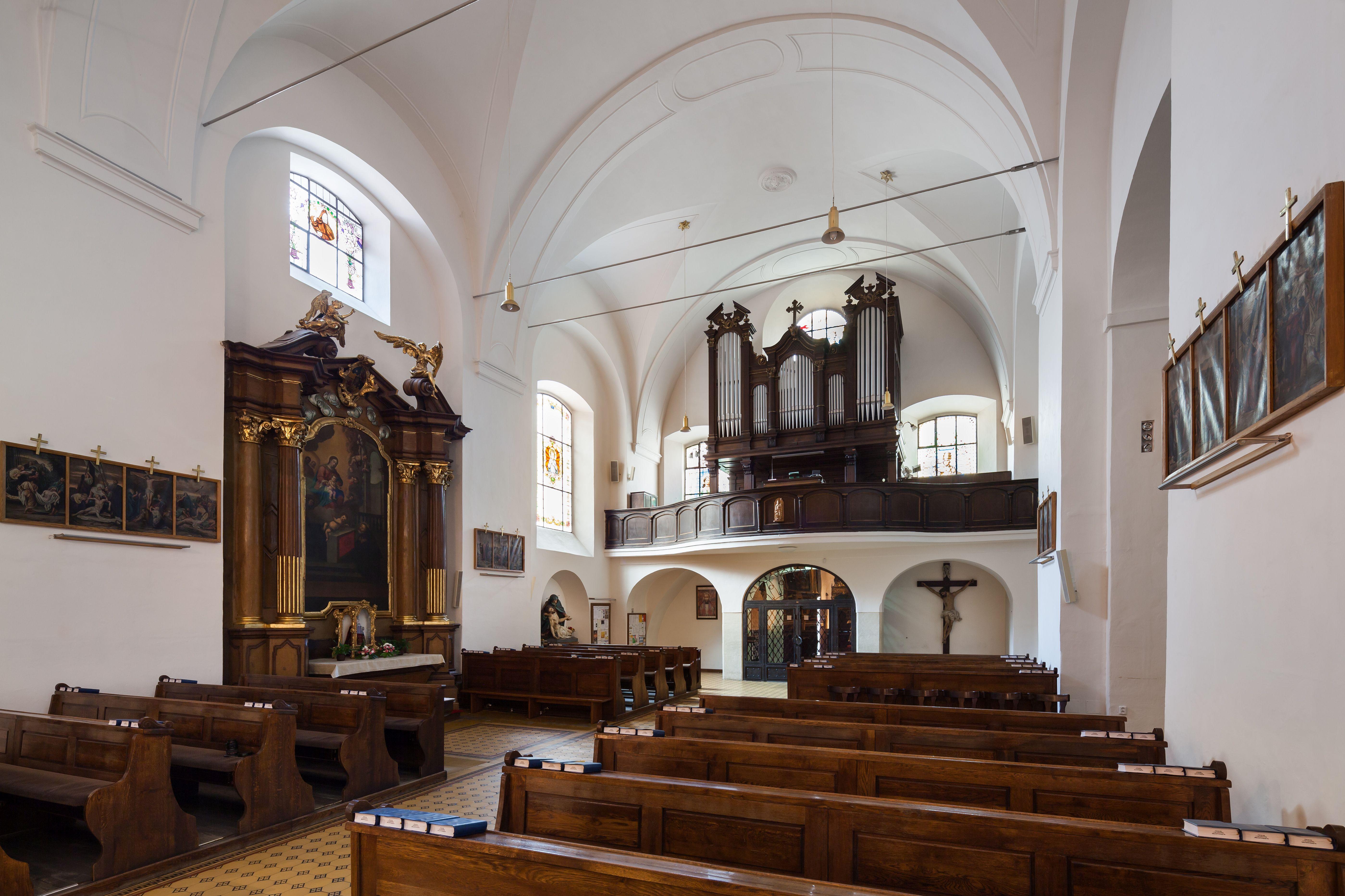 Church of Finding the Holy Cross and Capuchin Monastery (Kostel Nalezení sv. Kříže a Kapucínský klášter) in Brno