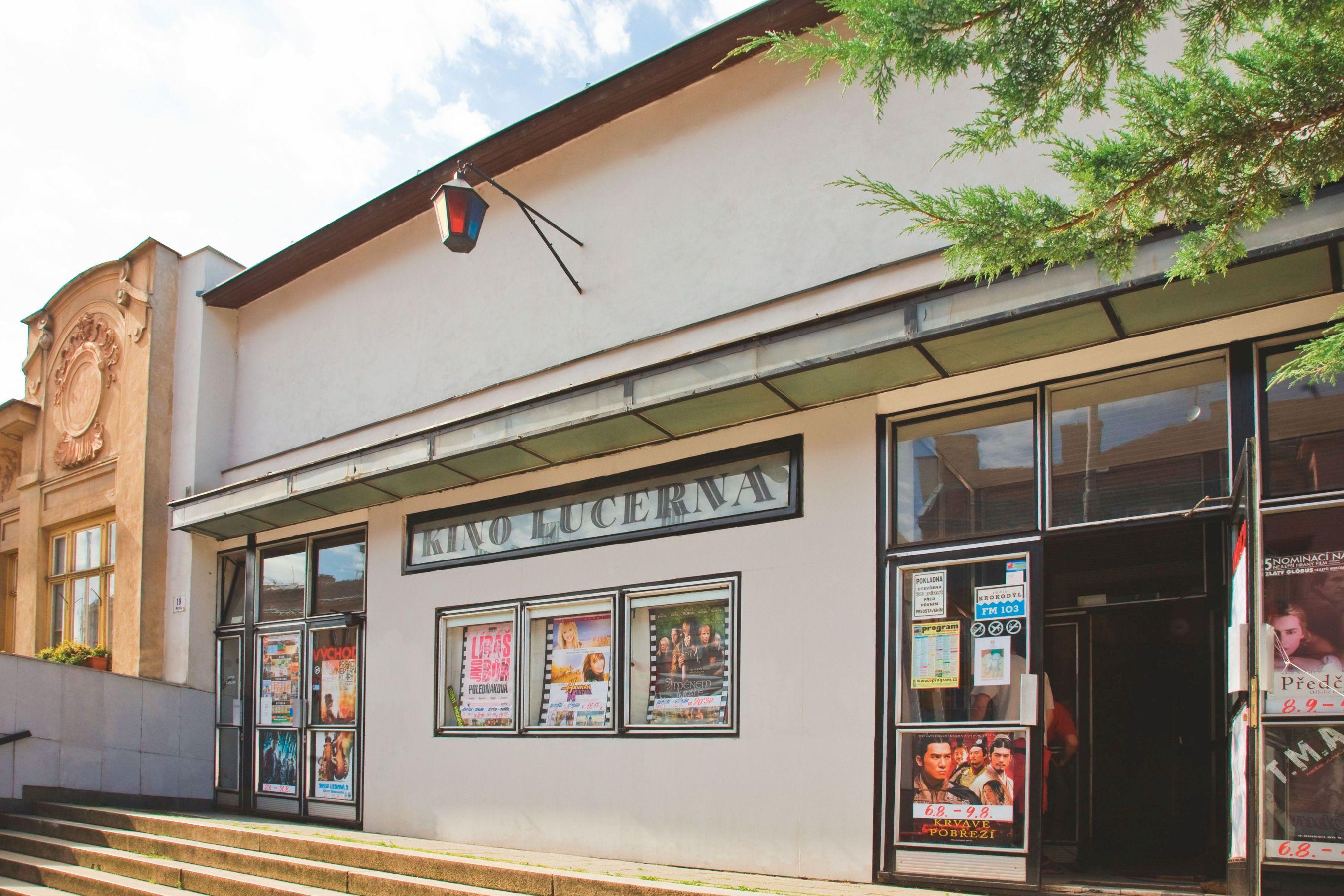 Lucerna Cinema in Brno