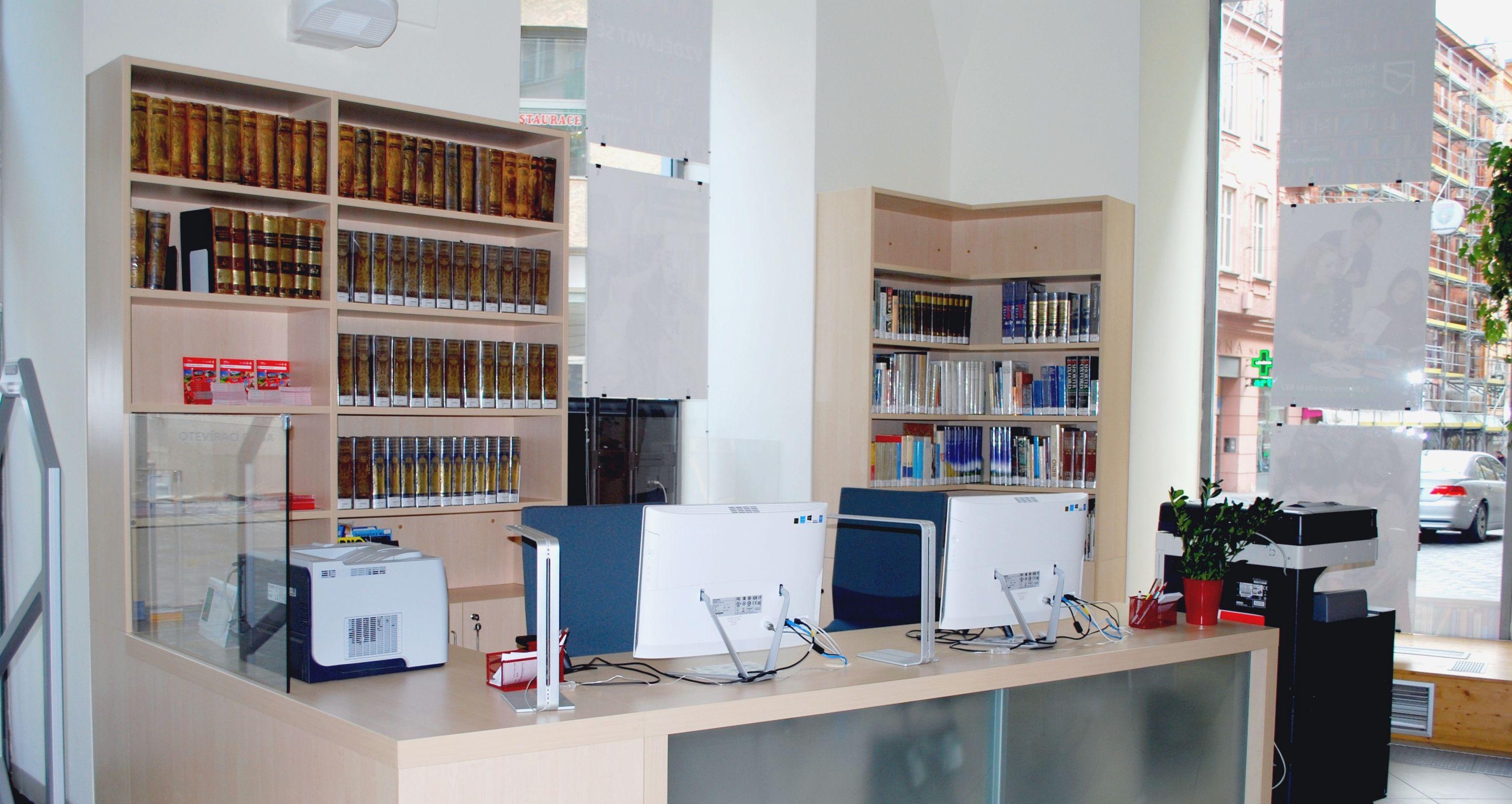 Jiří Mahen Library (Knihovna Jiřího Mahena) in Brno