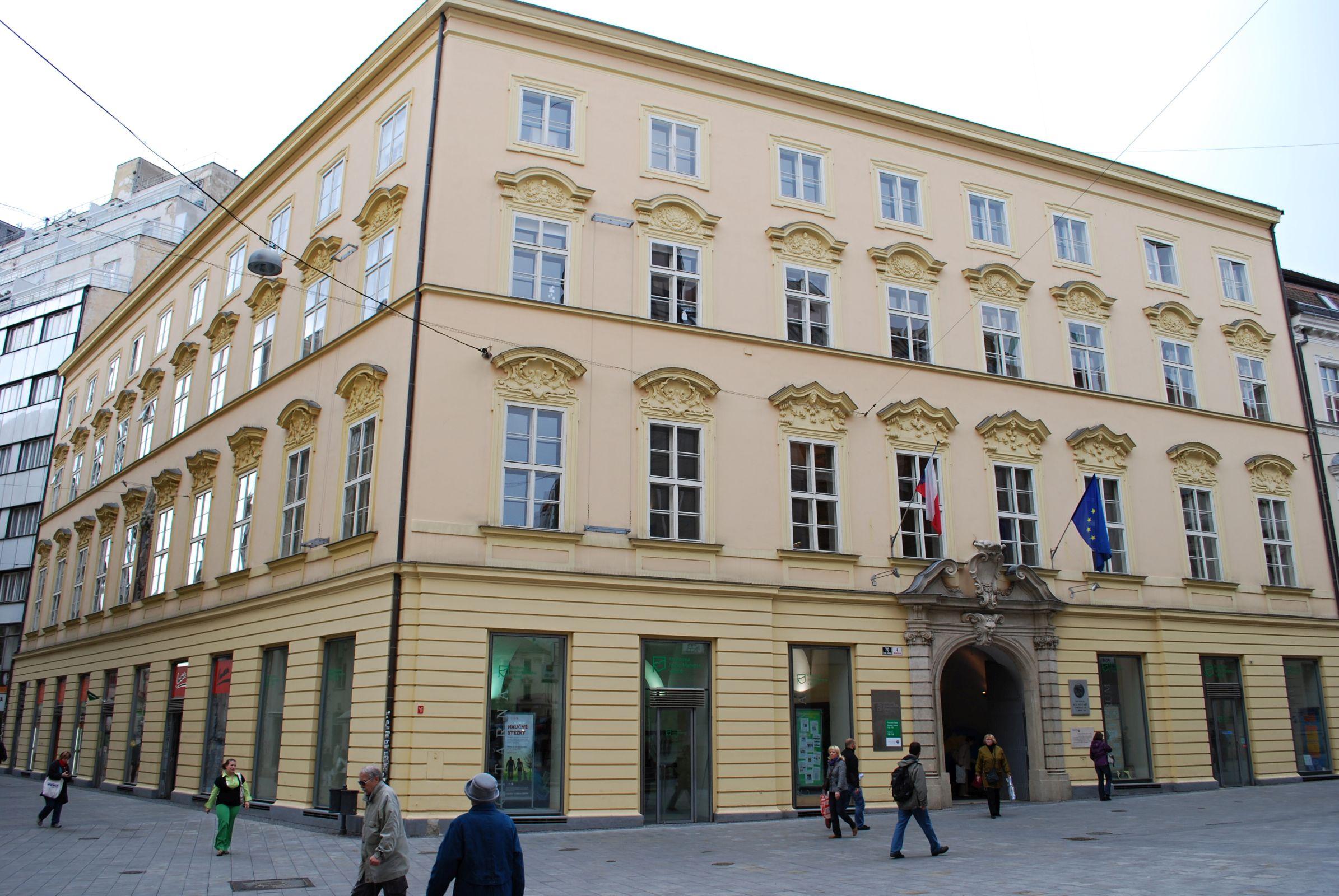 Knihovna Jiřího Mahena v Brně