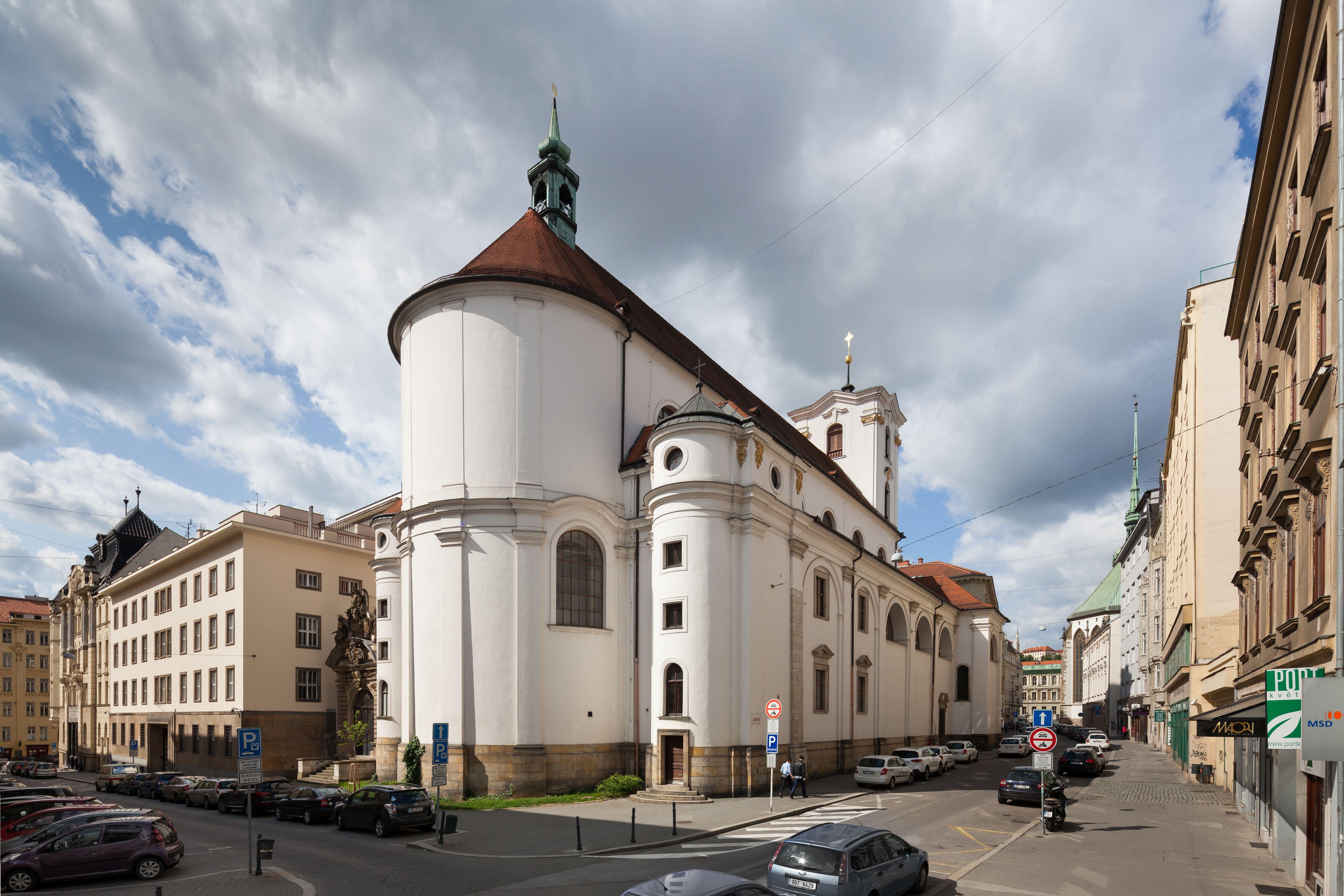 Church of the Assumption of Virgin Mary (Kostel Nanebevzetí Panny Marie) in Brno