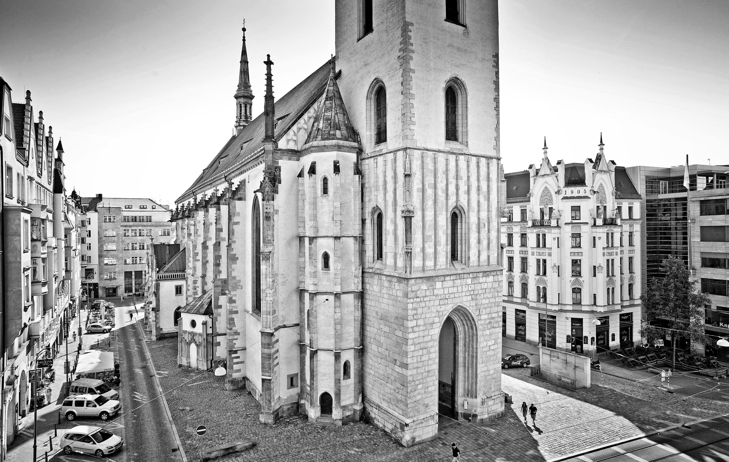 Church of St. James in Brno