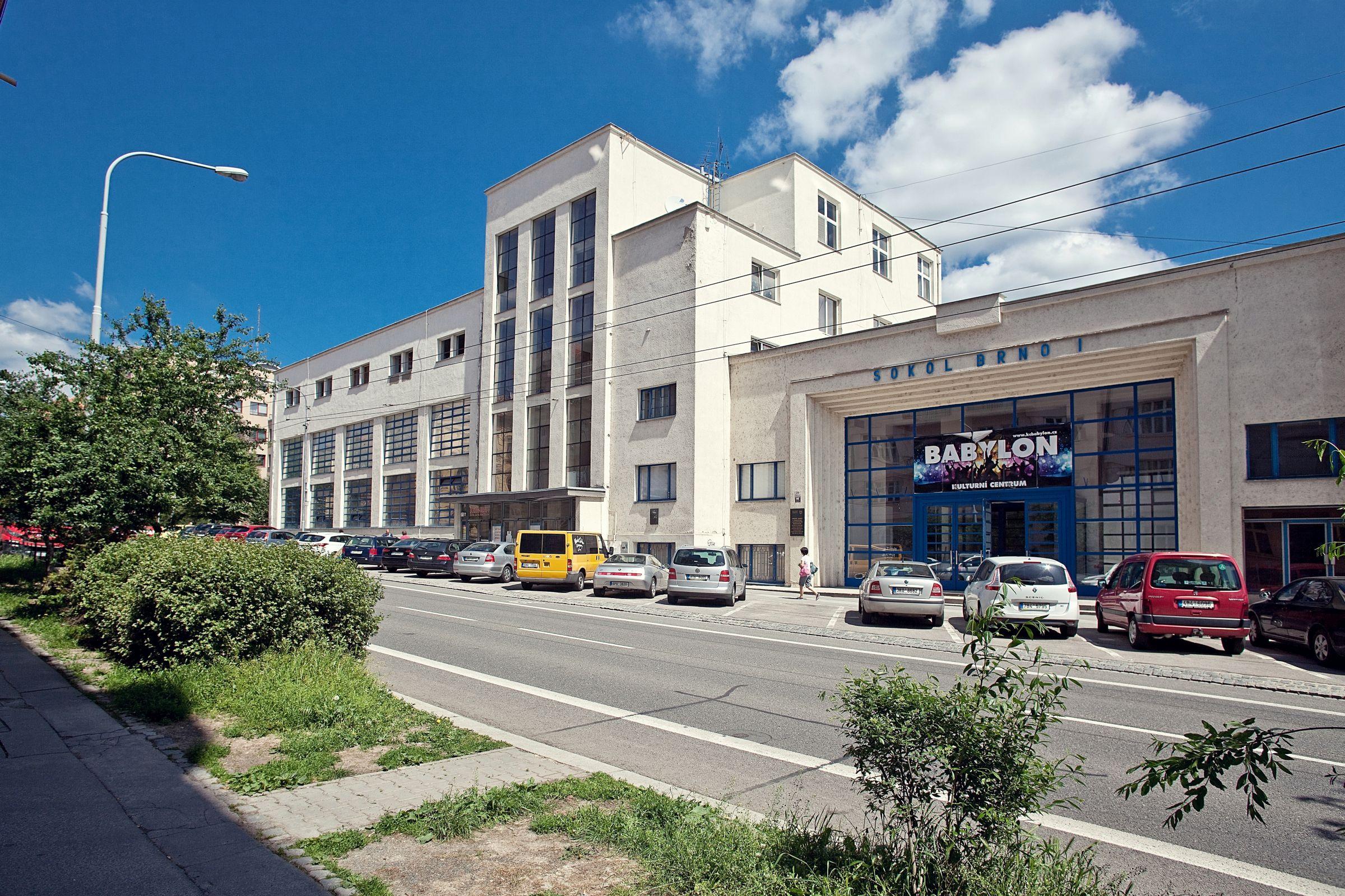 Stadion Hall - Kounicova in Brno