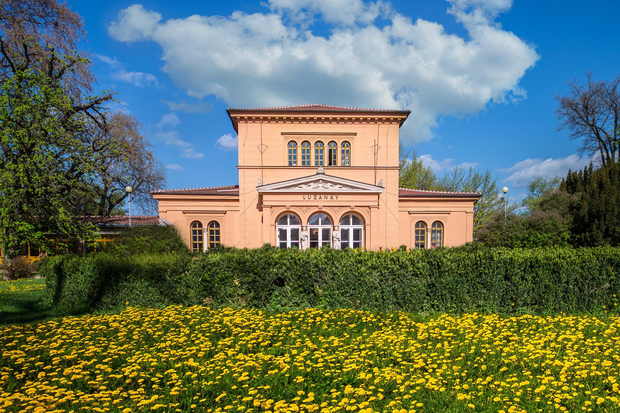 Pavilon Lužánky in Brno