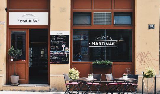 confectionary Cukrářství Martinák in Brno