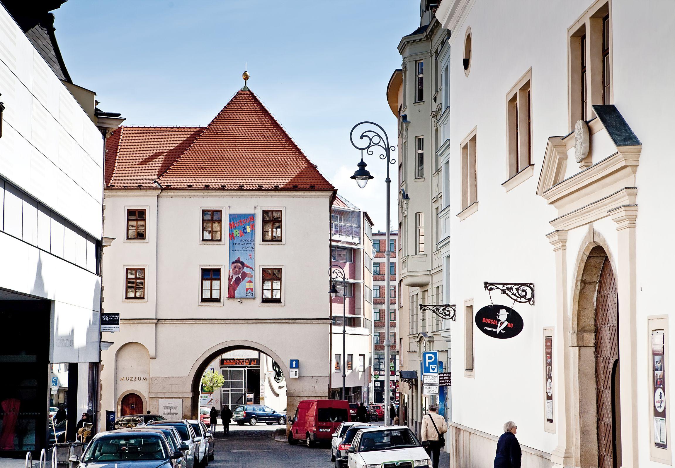 Měnín Gate (Měnínská brána) in Brno