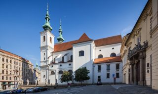 Church of St Michael (Kostel sv. Michala) in Brno