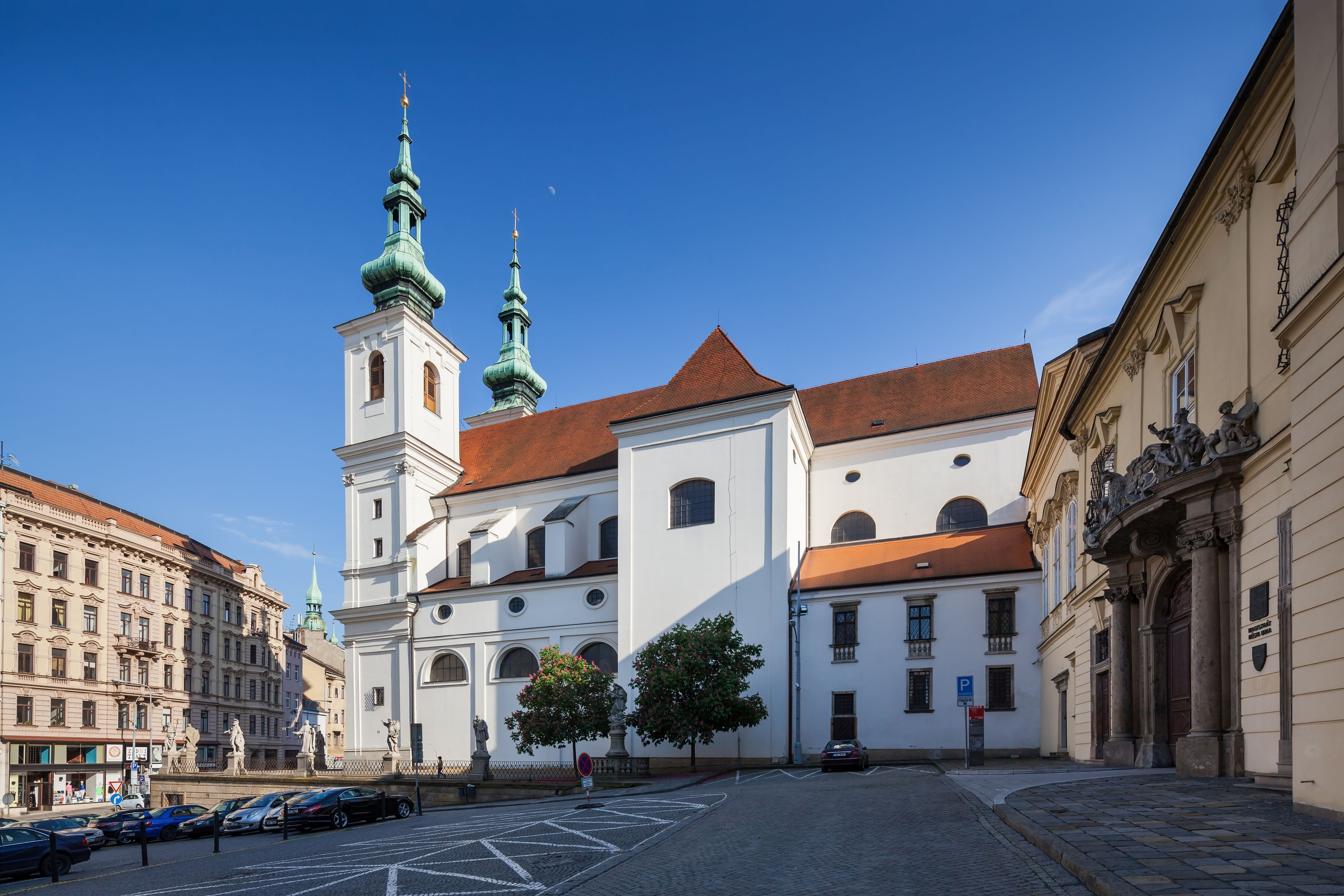 Church of St Michael (Kostel sv. Michala) in Brno