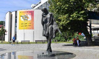 sculpture Jiří Marek: Mime in Brno