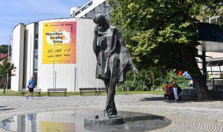 sculpture: Jiří Marek: Mim in Brno