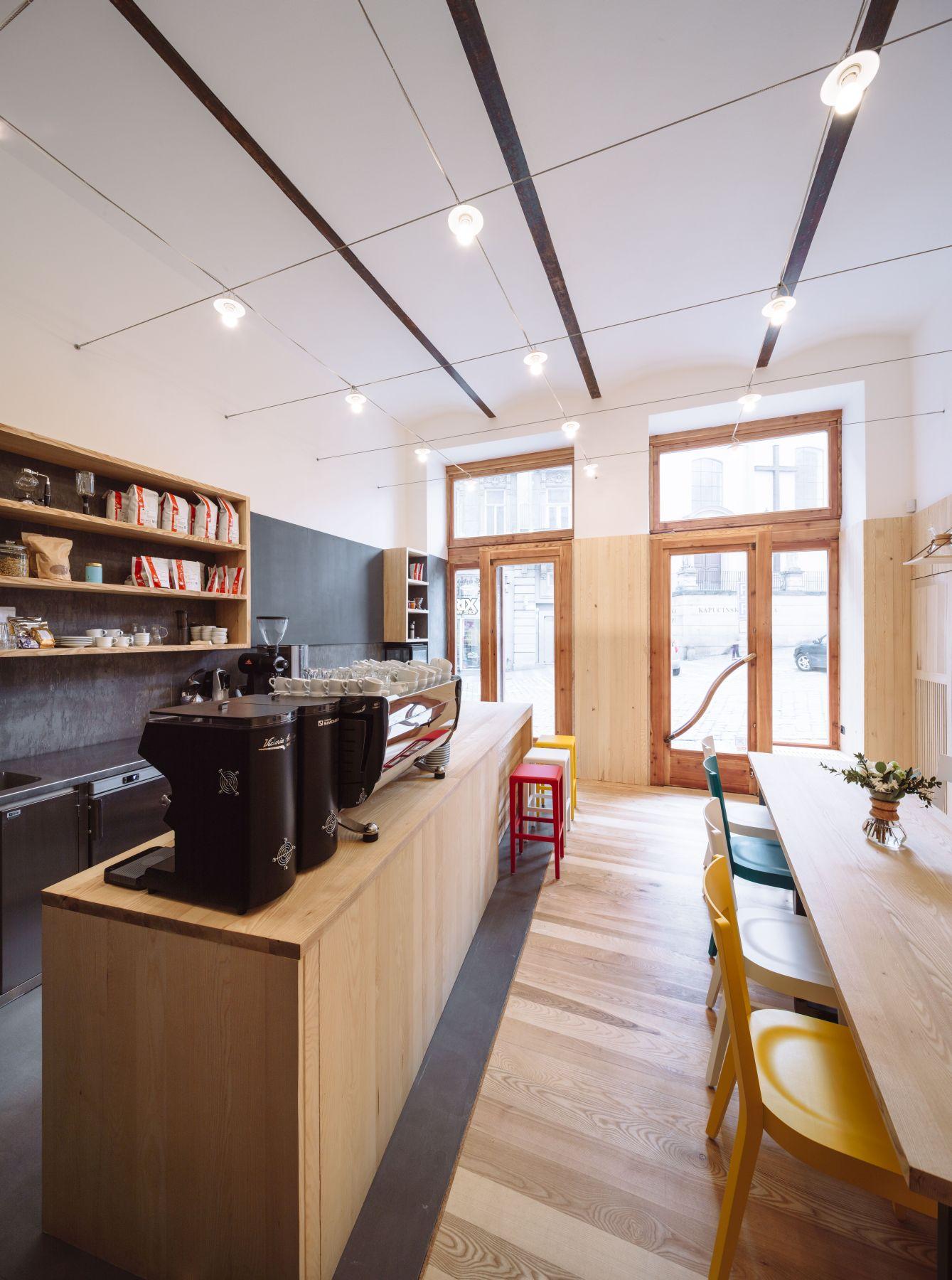 kavárna monogram espresso bar v Brně