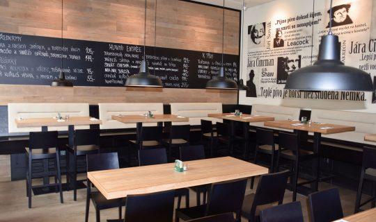 pivnice NOK NOK restaurant v Brně