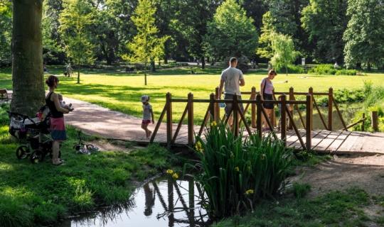 Park Lužánky v Brně