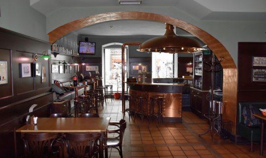 pub Stopkova plzeňská pivnice in Brno