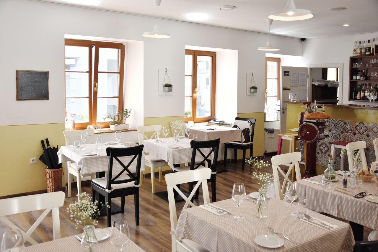 restaurace Castellana Trattoria v Brně