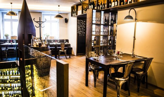 restaurace Retro Consistorium v Brně