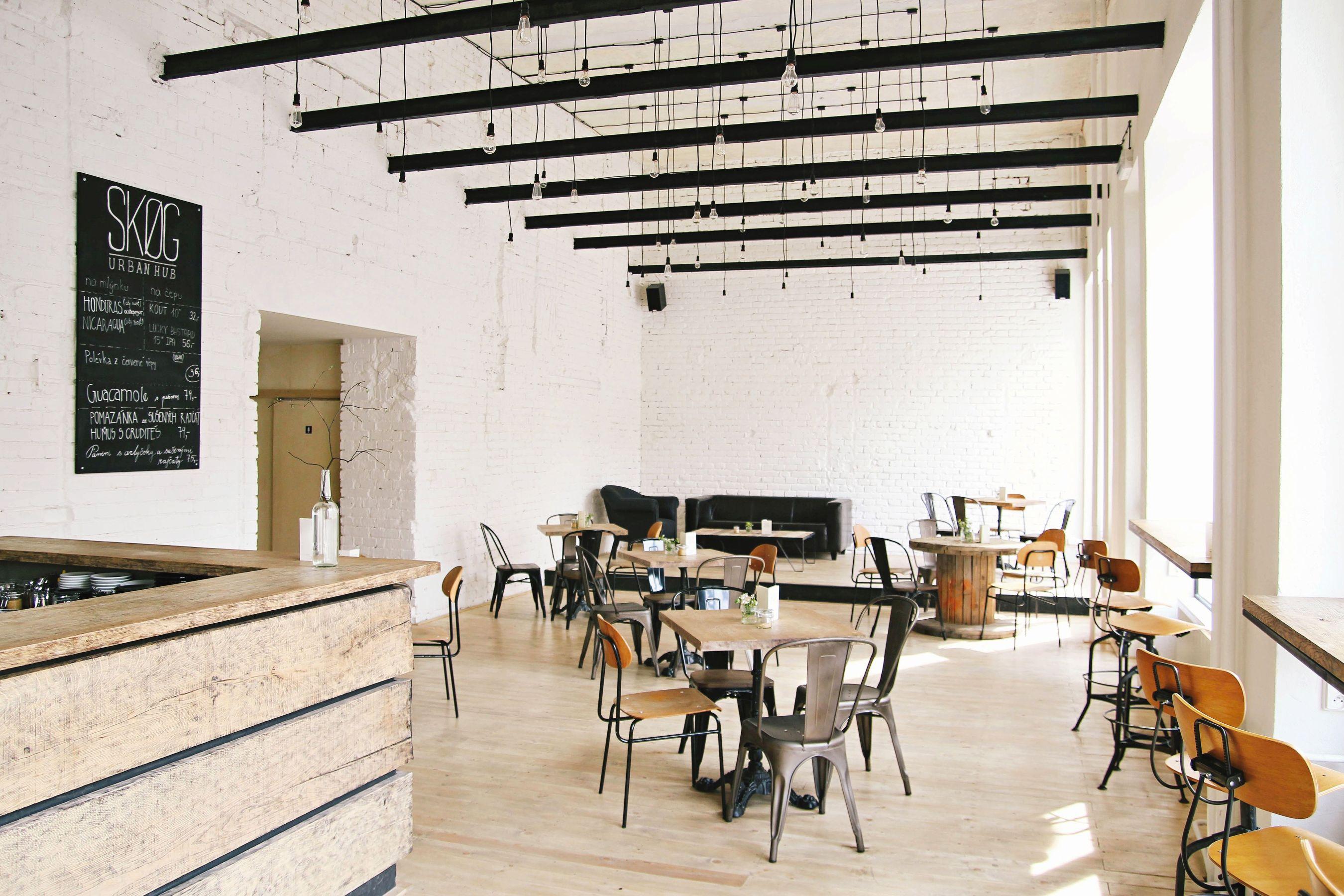 Cafe SKOG Urban Hub in Brno