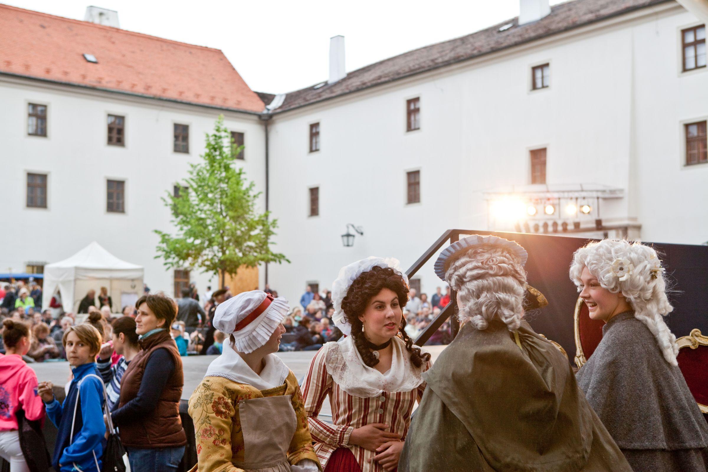 Castle Špilberk in Brno